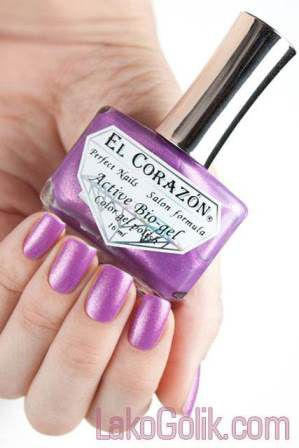 El Corazon Active Bio-gel Magic Shine 423/552 Magic Purple Charm