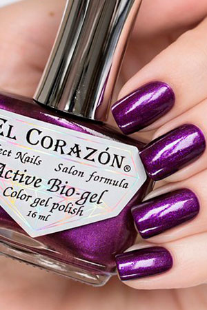 El Corazon Active Bio-gel Nail Party 423/628 Black Sabbath