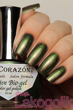 El Corazon Active Bio-gel Nail Polish Maniac 423/704 Poison