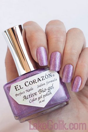 El Corazon Active Bio-gel Gemstones (Самоцветы) 423/452 Pink quartz